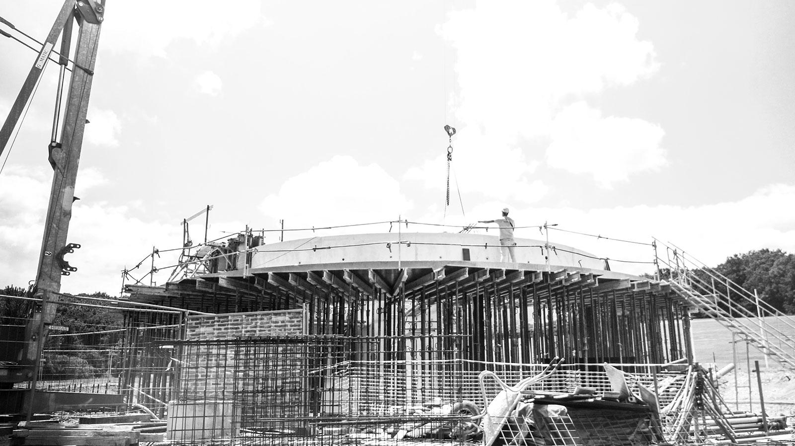 Construction neuve du bâtiment Pierre Fabre par Bulditec