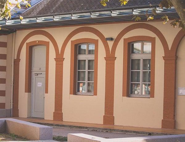 Vue détaillé du l'architecture albigeoise